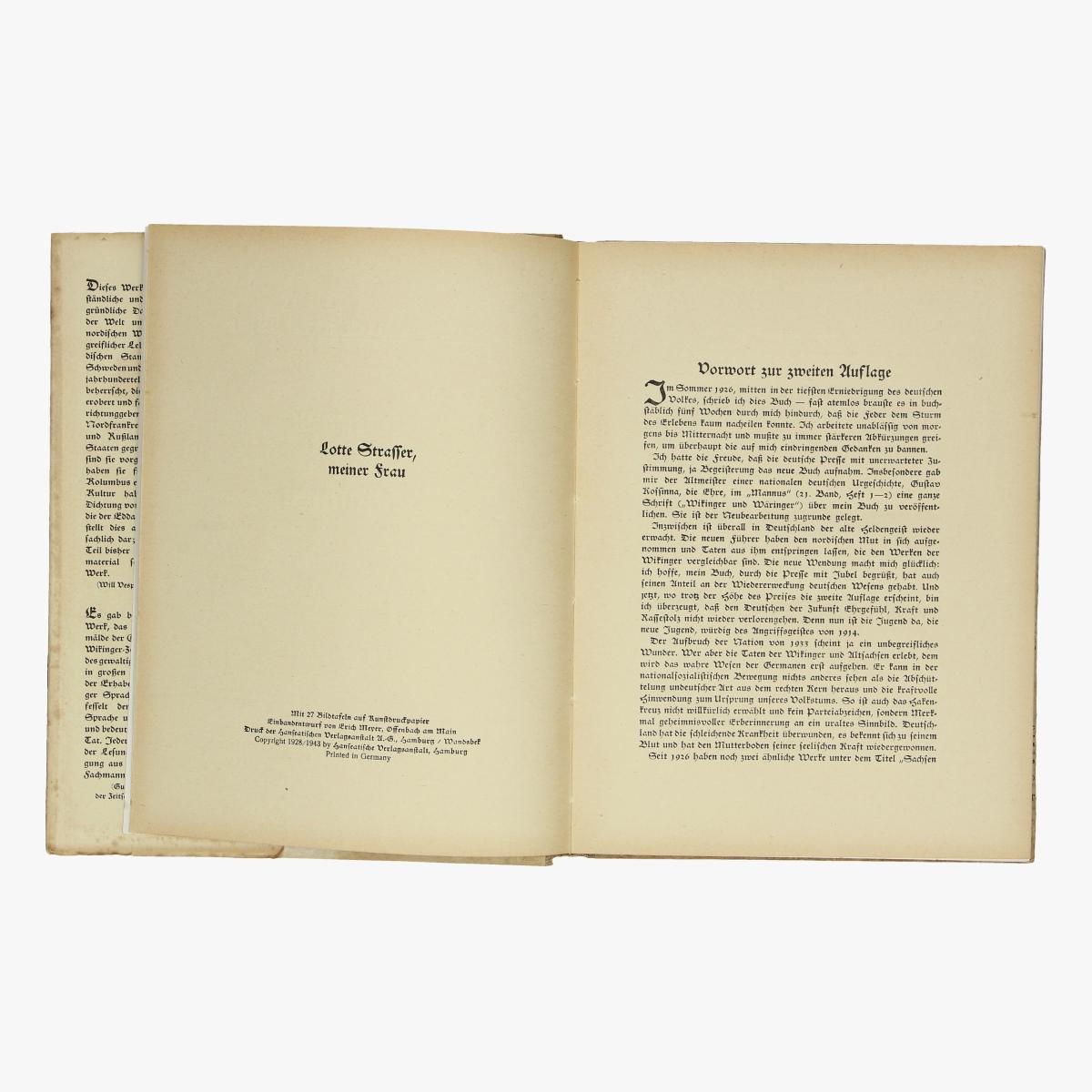 Afbeeldingen van boek karl theodor strasser wikinger und normannen 1943