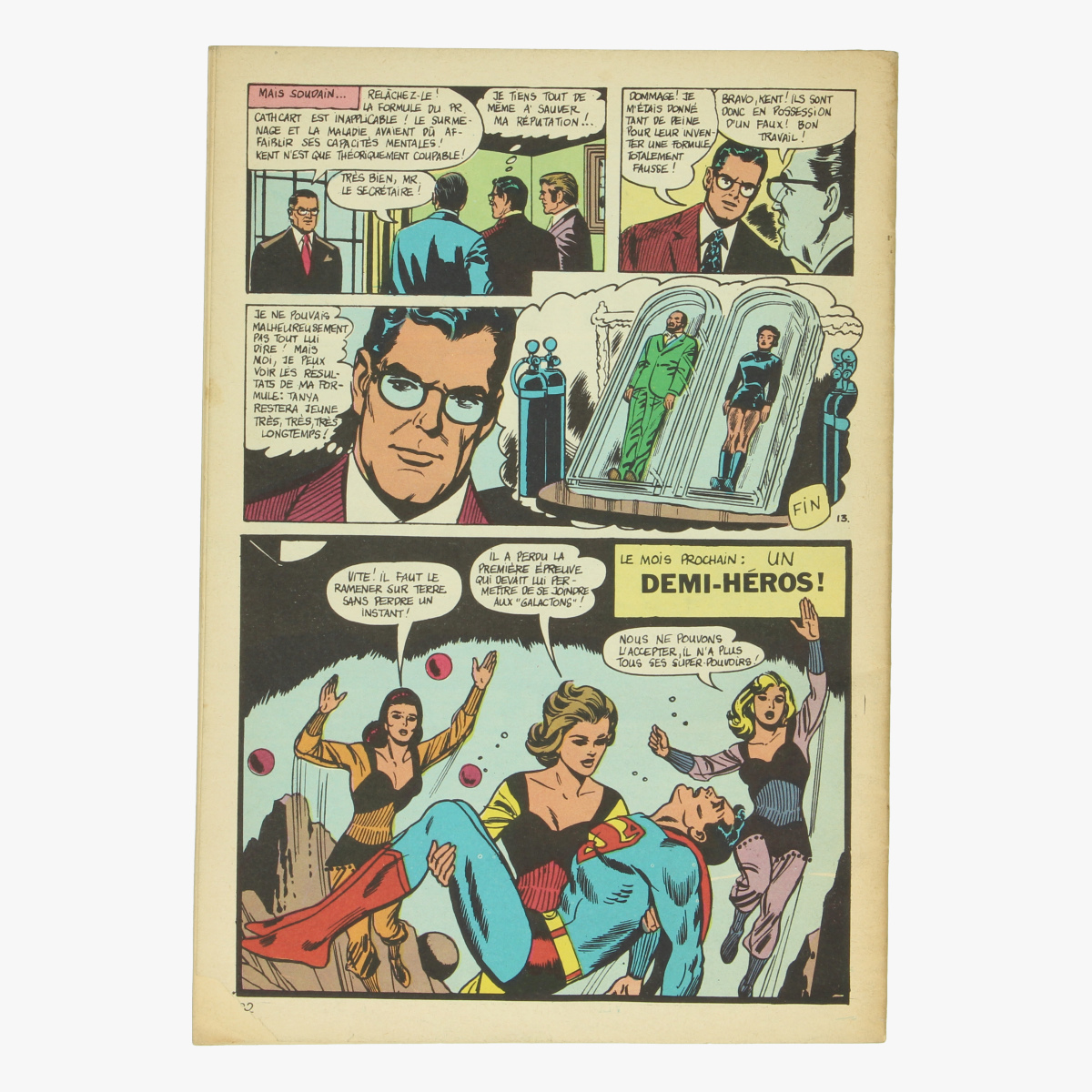 Afbeeldingen van Superman et Batman.1970 Nr. 36 Stripverhalen