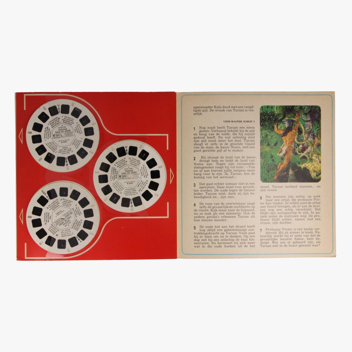 Afbeeldingen van View-master Tarzan van de apen B4441,B4442,B4443