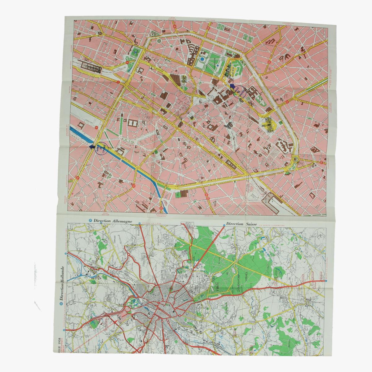 Afbeeldingen van expo 58 3 plans tentoonstelling brussel centrum brussel omgeving 1958