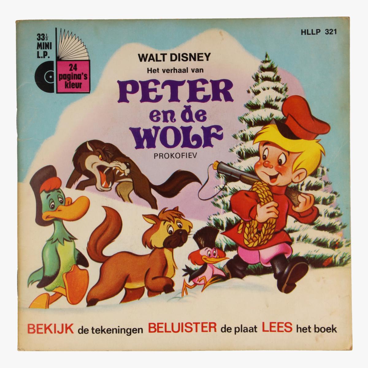Afbeeldingen van Singel, Walt Disney Het verhaal van Peter en de Wolf