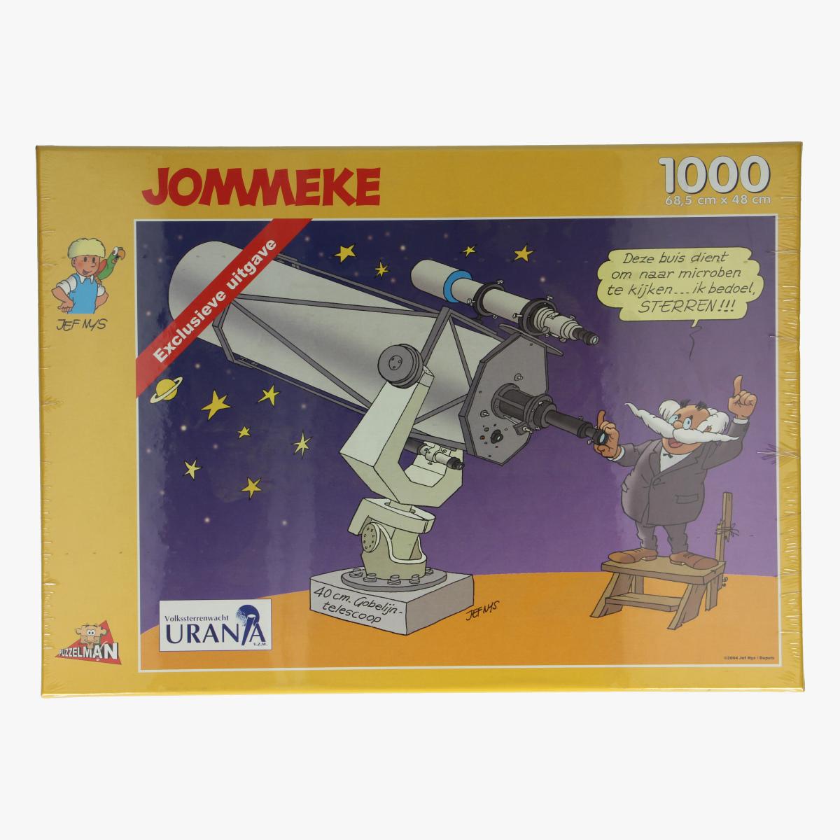 Afbeeldingen van Puzzel jommeke gobelijntelescoop