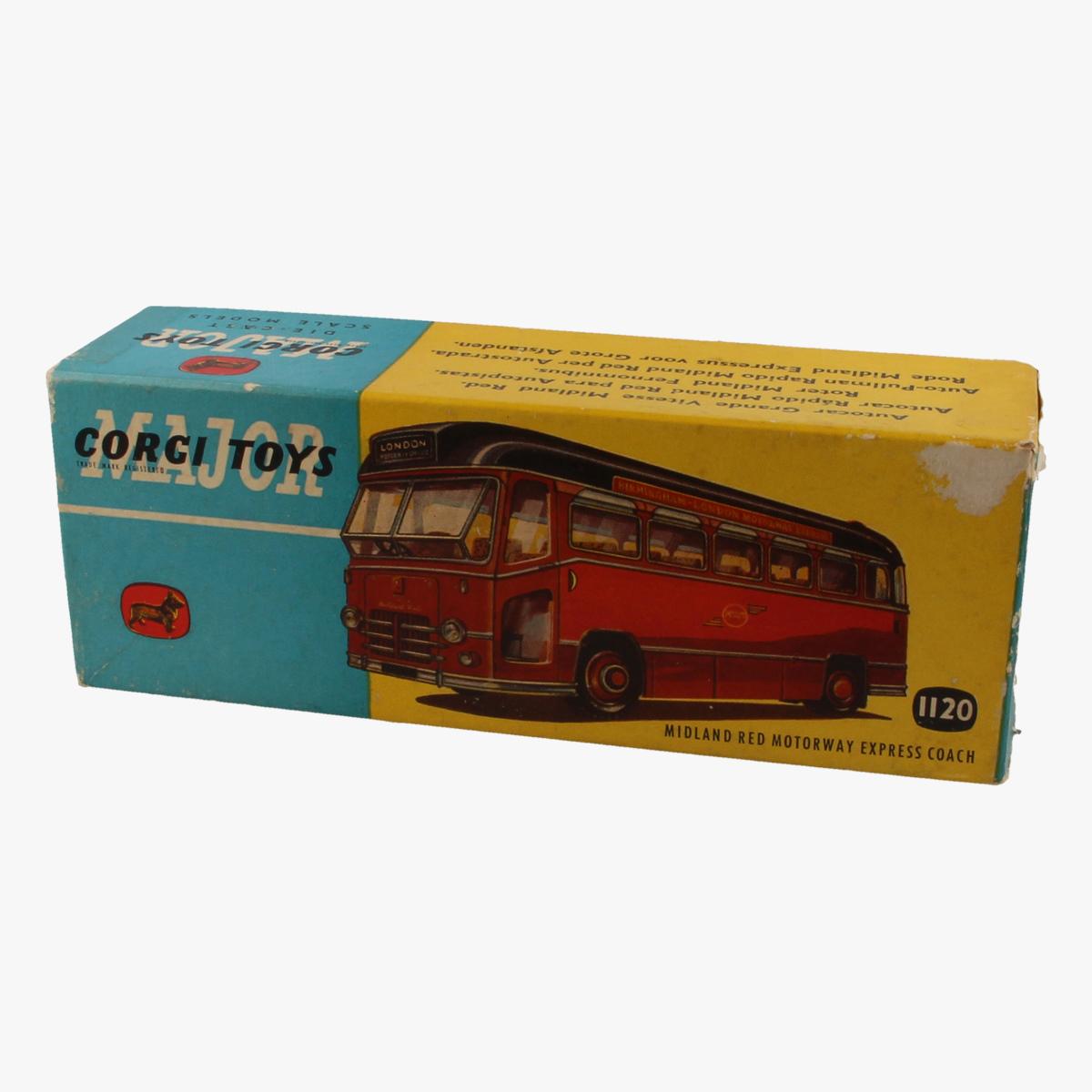 Afbeeldingen van Corgi Toys. Midland Red Motorway Express Coach. Nr.1120