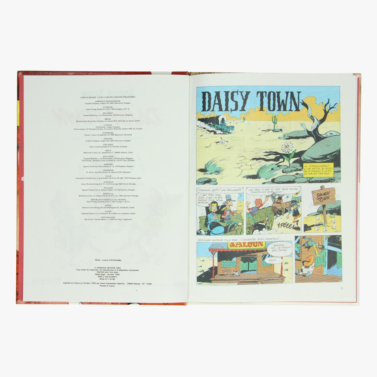 Afbeeldingen van Lucky Luke Daisy Town