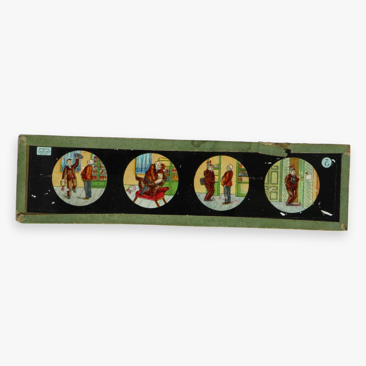 Afbeeldingen van laterne magica ''ernst planck'' made in Germany met doos