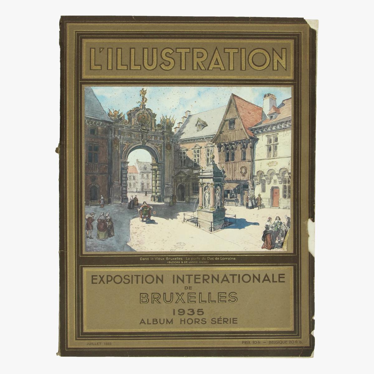 Afbeeldingen van exposition internationale de bxl 1935 album hors série