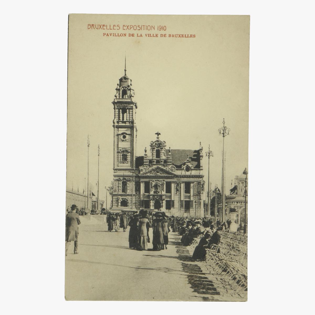 Afbeeldingen van postkaart bruxelles exposition 1910 pavillon de la ville de bruxelles