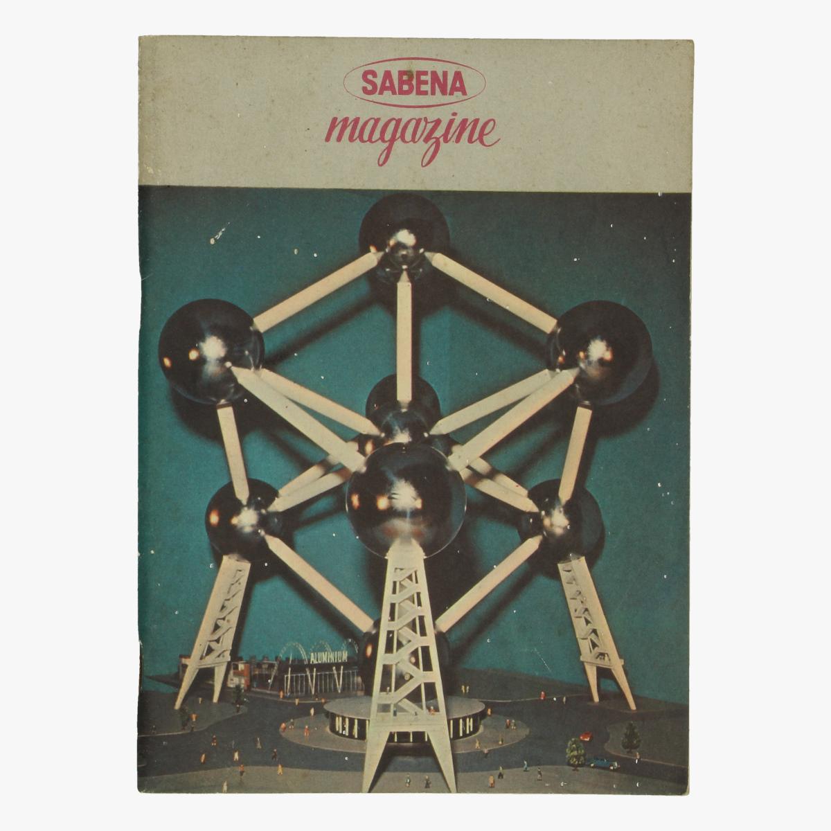 Afbeeldingen van sabena magazine - expo 58