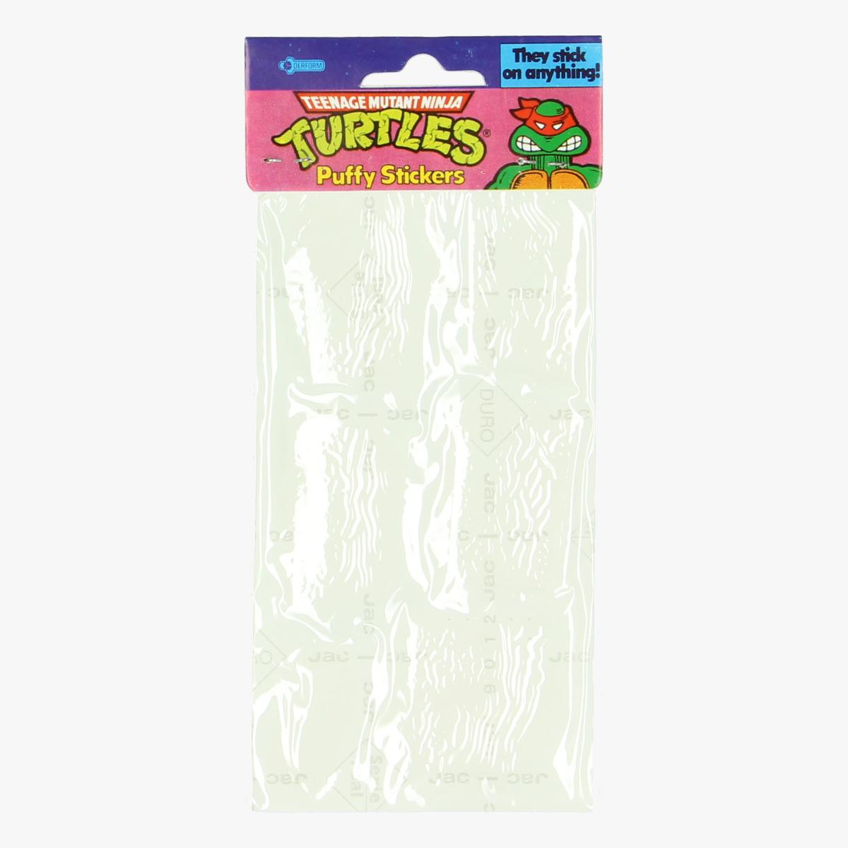Afbeeldingen van Puffy stickers Teenage mutant ninja turtles