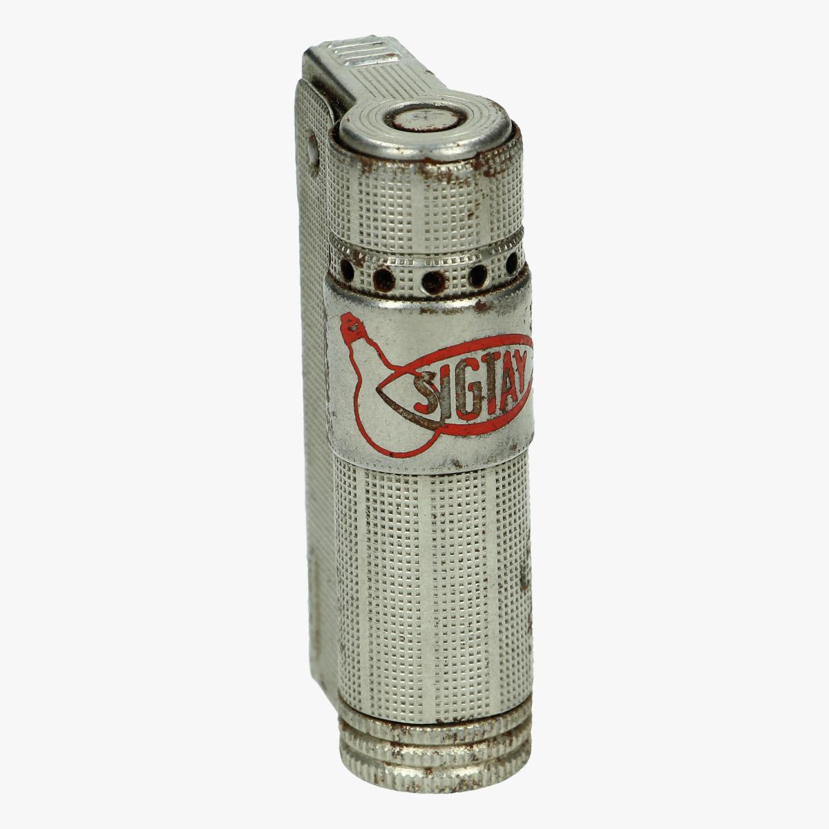 Afbeeldingen van oude aansteker sigtay patent austria