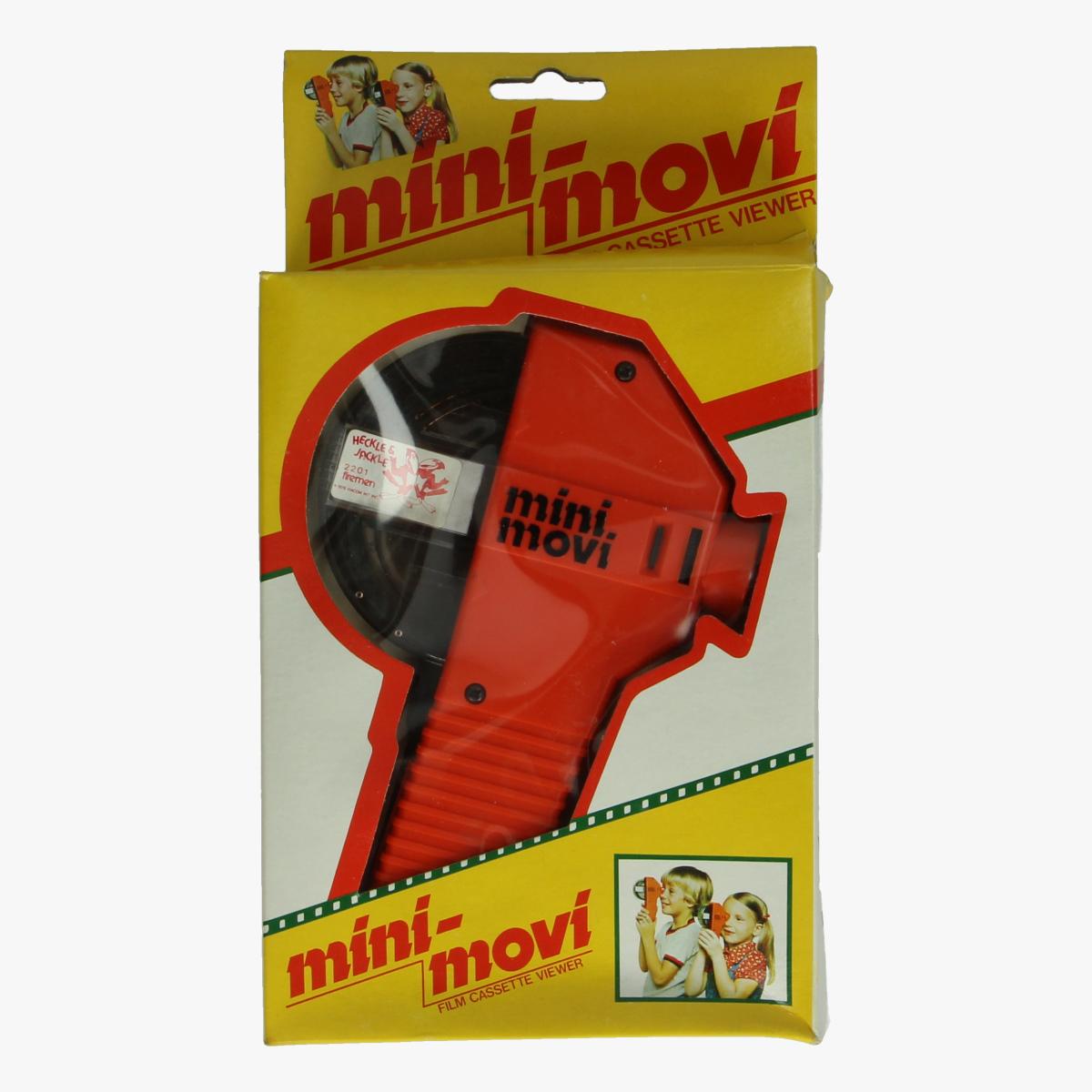 Afbeeldingen van Mini - Movi. Speelgoed. Film casette viewer.