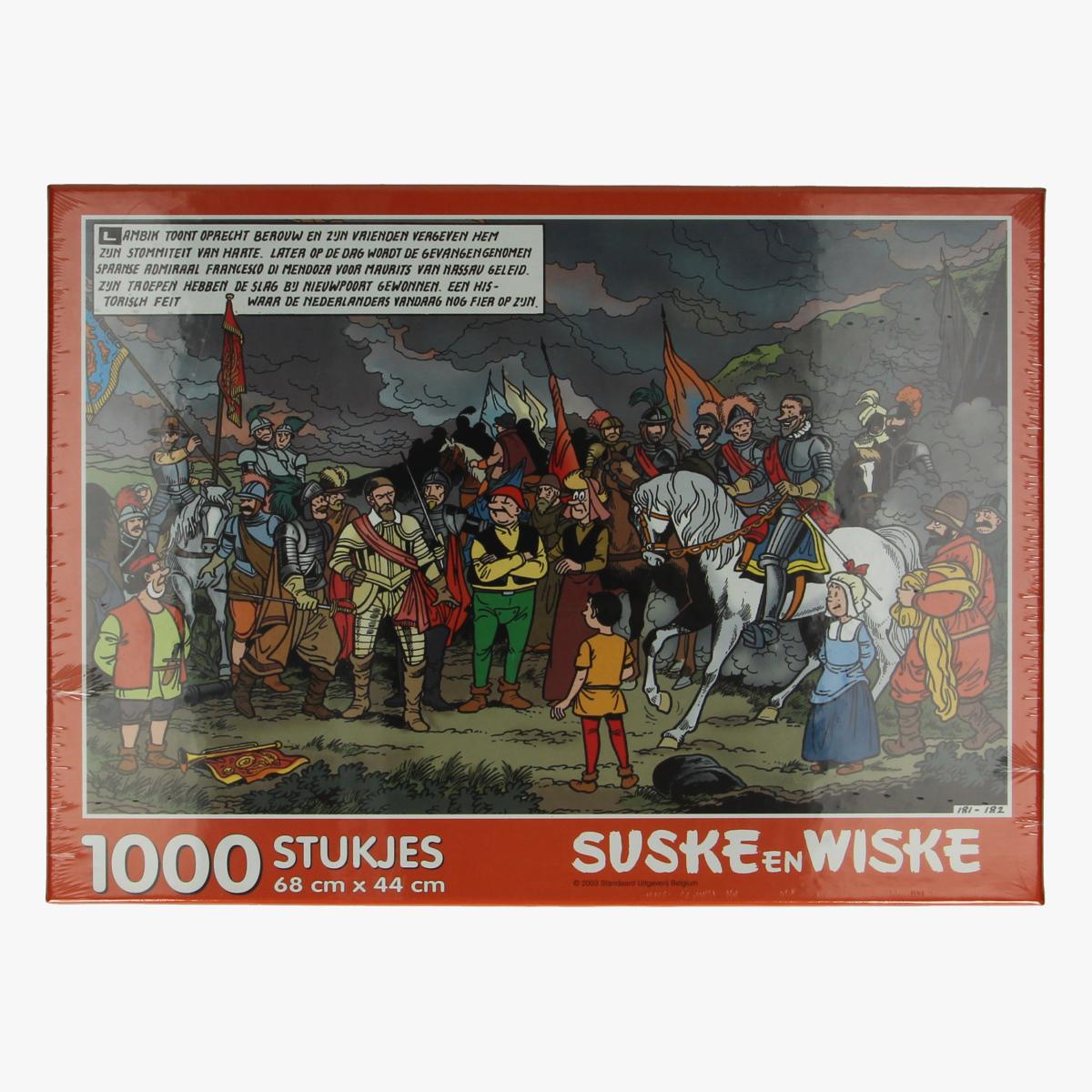 Afbeeldingen van Puzzel suske en wiske 1000stuks