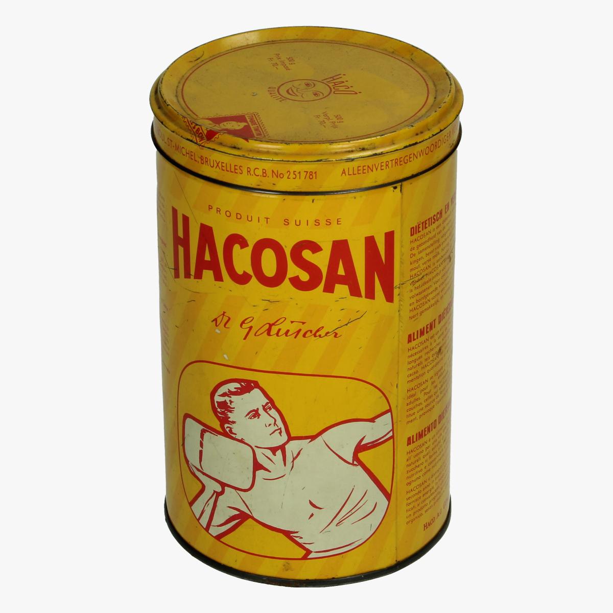 Afbeeldingen van Hacosan blik