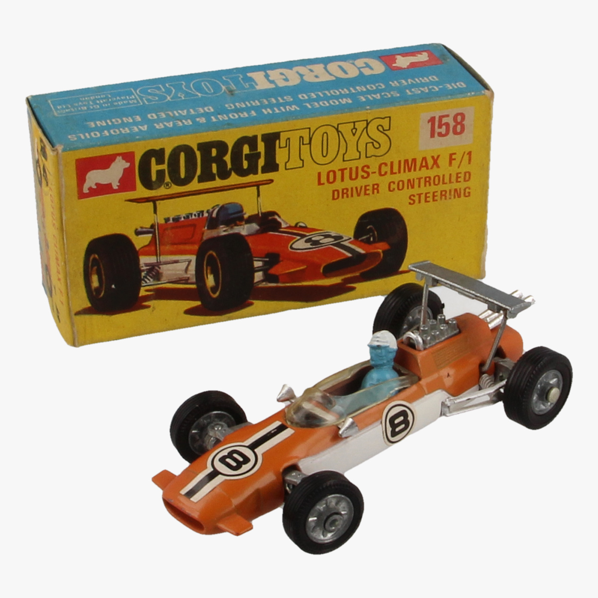 Afbeeldingen van Corgi Toys. Lotus Climax F/1. Nr. 158