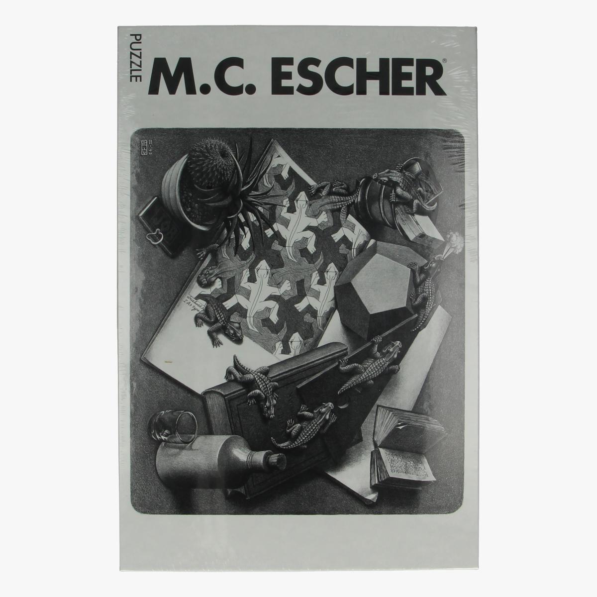 Afbeeldingen van Puzzel M.C. Escher reptiles
