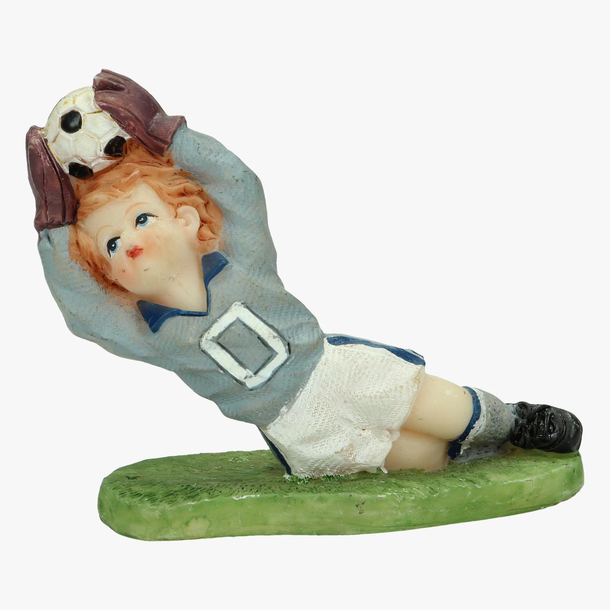 Afbeeldingen van beeldje keeper voetbal