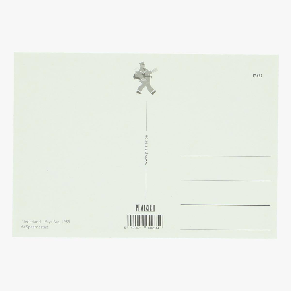 Afbeeldingen van postkaart Pays Bas Nederland, 1959 repro