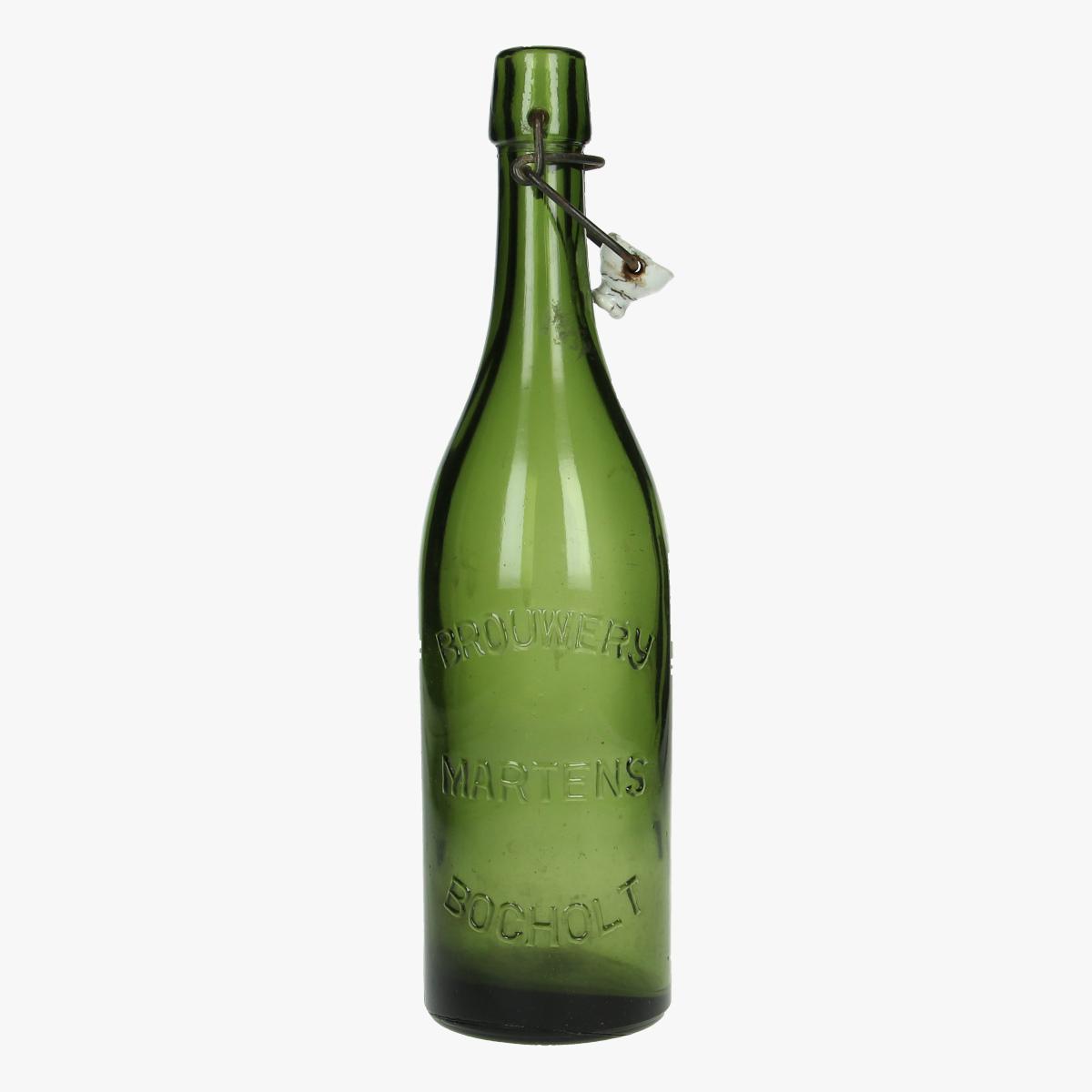 Afbeeldingen van oude fles brouwerij martens Bochelt