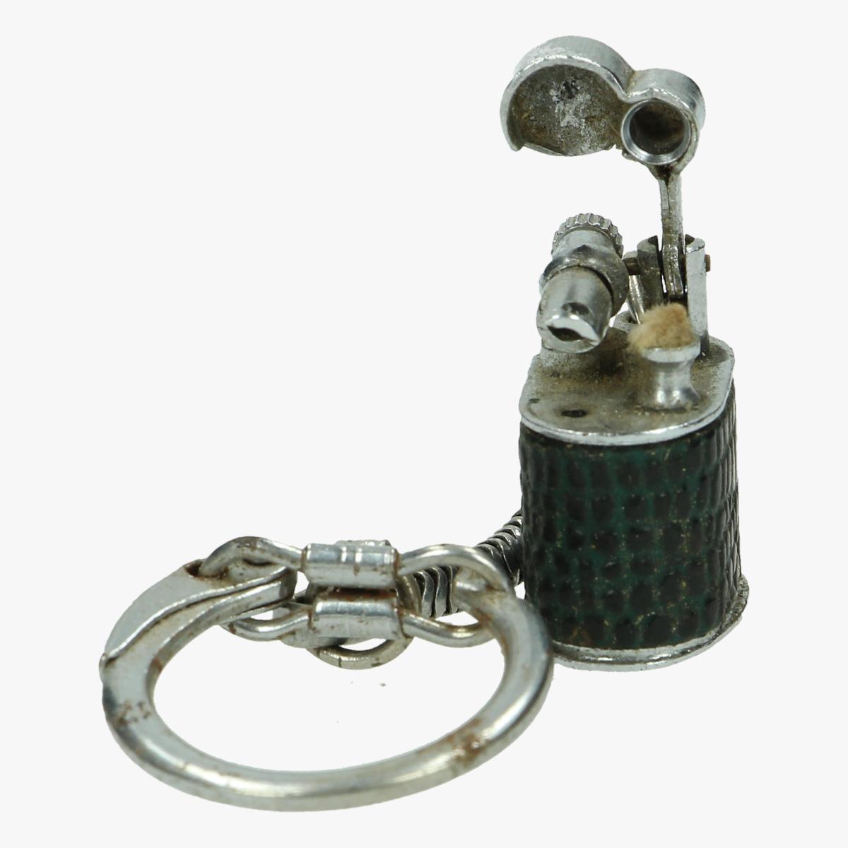 Afbeeldingen van oude aansteker sleutelhanger