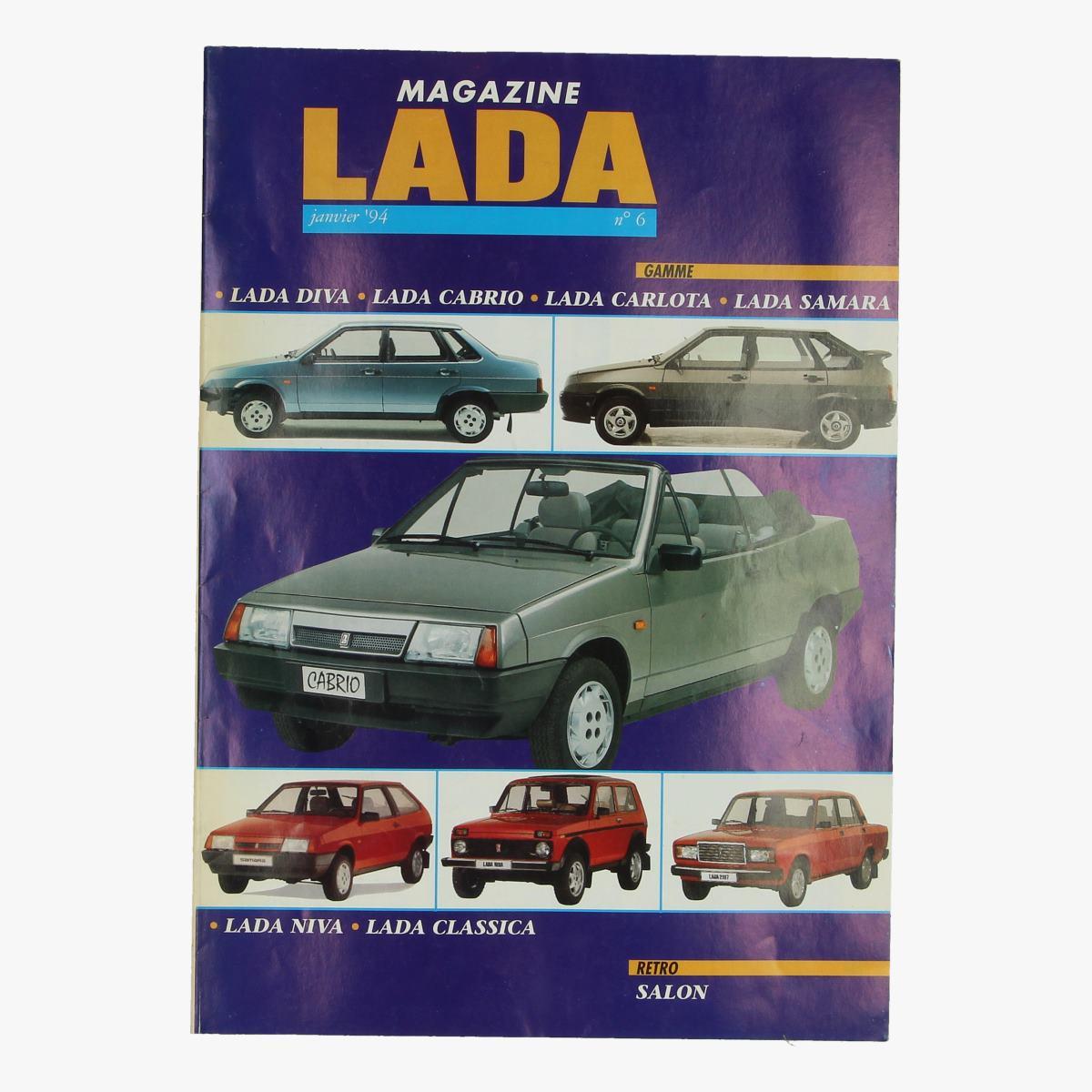 Afbeeldingen van magazine lada n°6 jan 1994