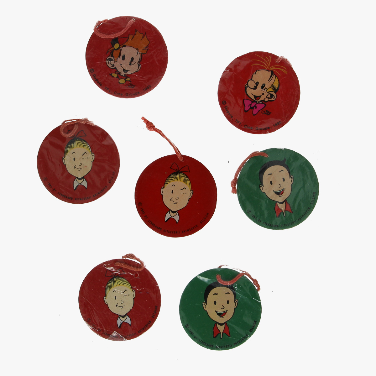 Afbeeldingen van robbedoes kerstversiering dupuis. tf1 . cine . group. 1995 kerstbal