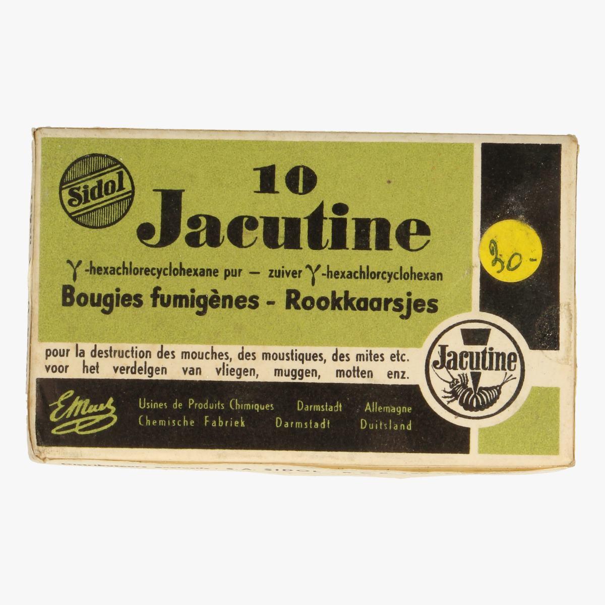 Afbeeldingen van 10 rookkaarsjes jacutine voor het verdelgen van vliegen muggen en motjes