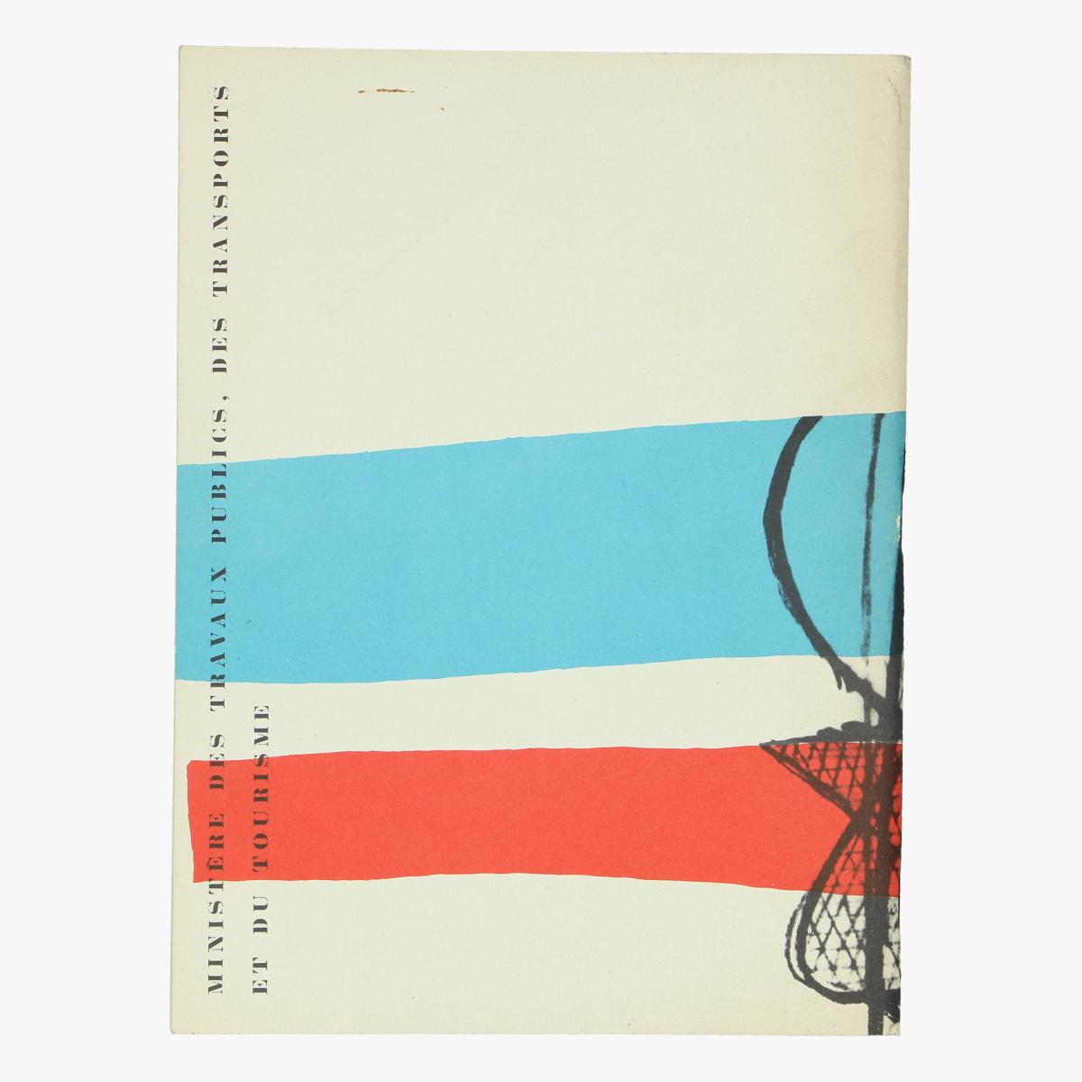 Afbeeldingen van expo 58 carnet de voyage en france / 1958 calendrier des manifestions