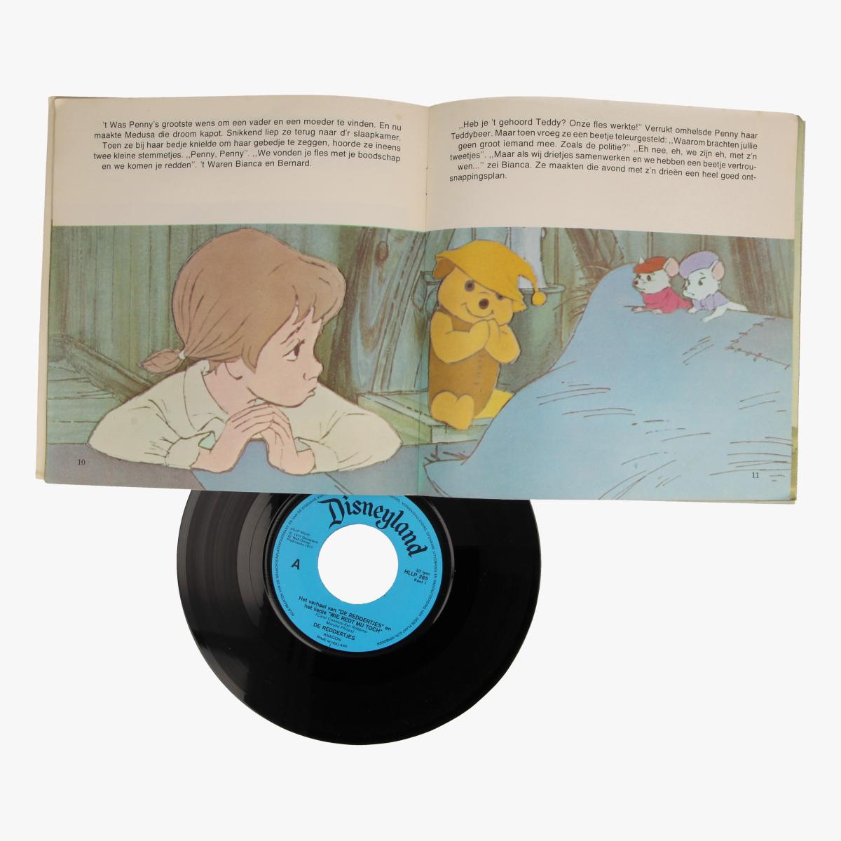 Afbeeldingen van Singel Walt Disney Het verhaal van de Reddertjes