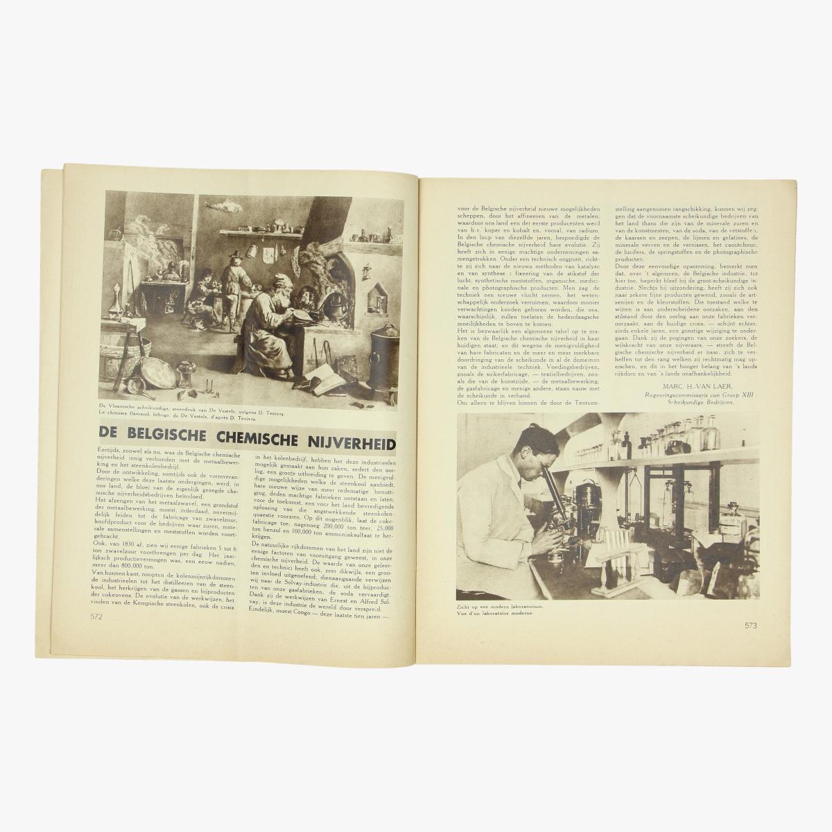 Afbeeldingen van wereldtentoonstelling 1935 officieel blad der algemeene