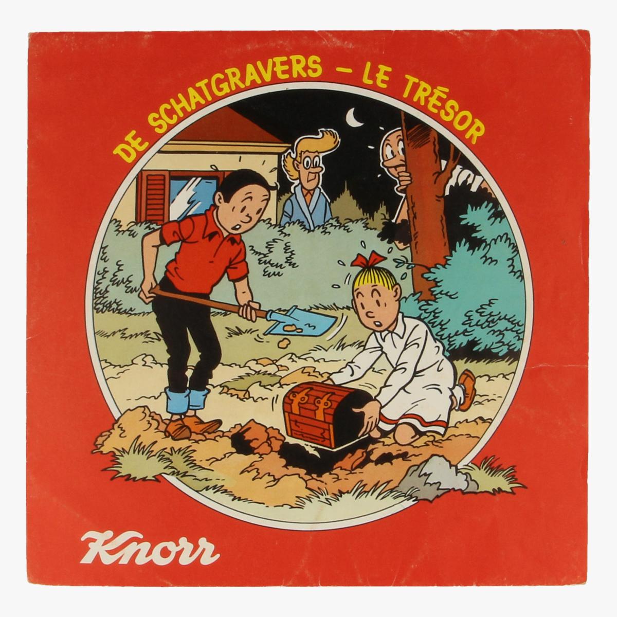 Afbeeldingen van Suske en Wiske. De schatgravers Flexi Disc Knorr
