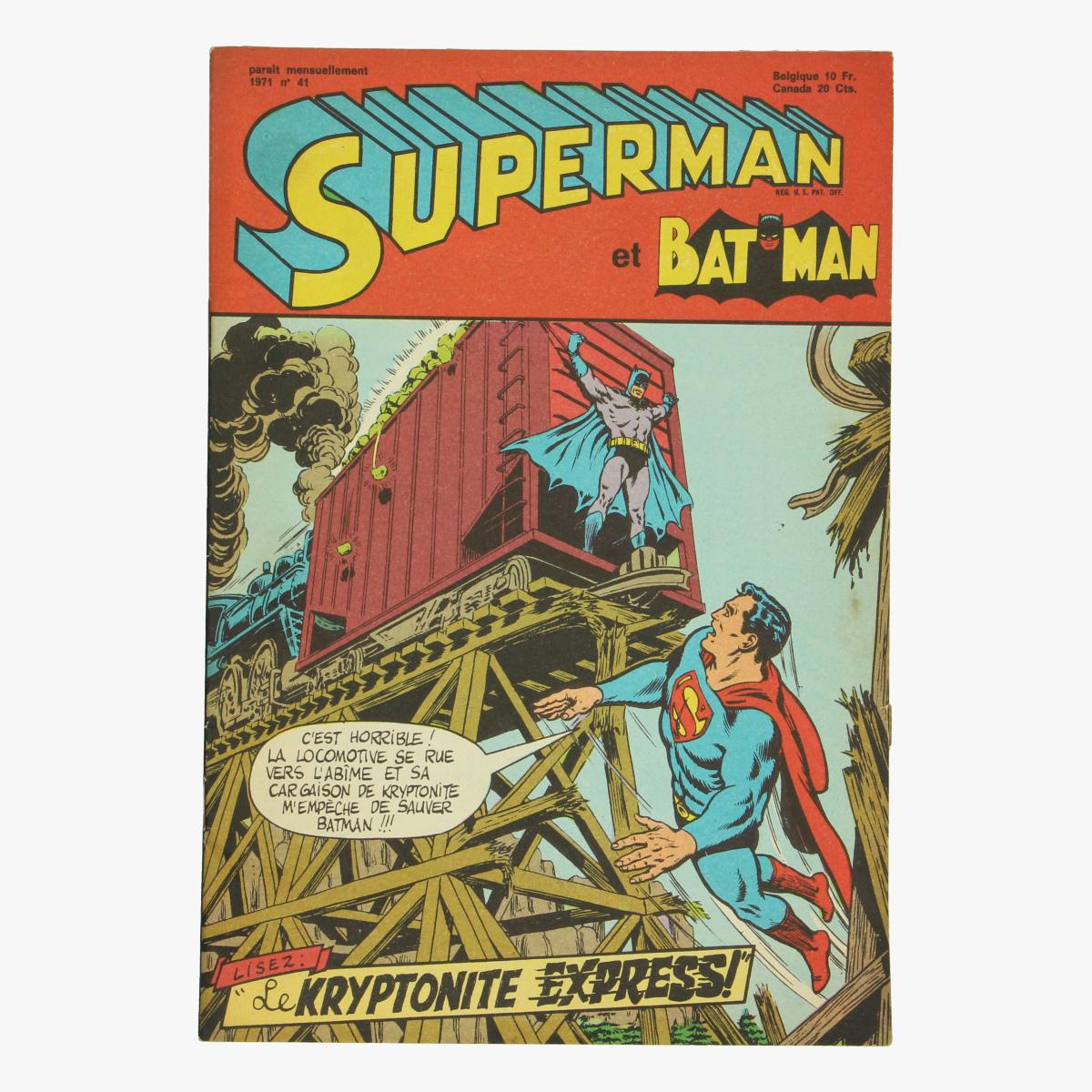 Afbeeldingen van Superman et Batman.1971 Nr. 41 Stripverhalen