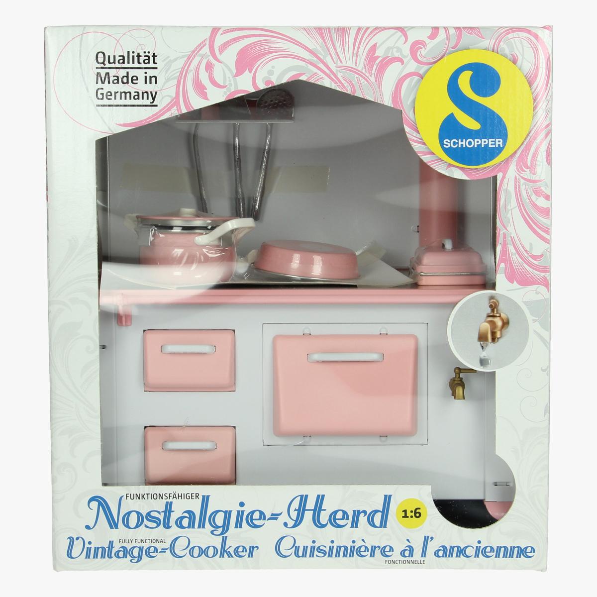 Afbeeldingen van vintage cooker schopper repro 1:6